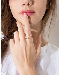 Pixie Market - Pink Happiness Diamond Ring - Lyst