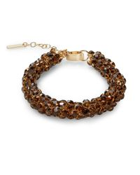 Saks Fifth Avenue | Tubular Cluster Bracelet/orange | Lyst