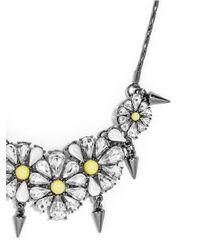 BaubleBar - Metallic Spike Daisy Collar - Lyst