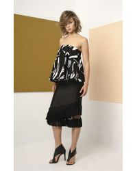 C/meo Collective - Black Night Changes Bustier - Lyst