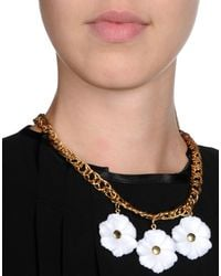 George J. Love - White Necklace - Lyst