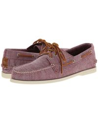 Sperry Top-Sider | Gray A/o 3-eye Fleck Canvas for Men | Lyst