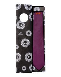 Fornasetti - Purple Tie for Men - Lyst