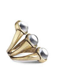 Jenny Bird - Metallic Orion Ring - Size 6 - Lyst