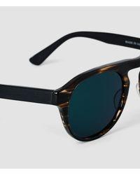 AllSaints - Brown The Codeine Sunglasses for Men - Lyst