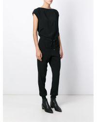 DIESEL - Black 'j-lu' T-shirt - Lyst