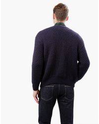 Wool And The Gang | Blue Knit Jagger Jumper for Men | Lyst
