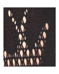 McQ - Black Knitted Leggings - Lyst