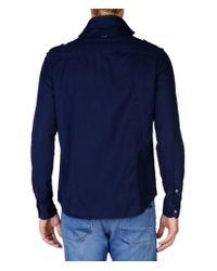 Napapijri | Blue Long Sleeve Shirt for Men | Lyst