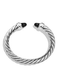 David Yurman | Metallic Waverly Bracelet With Black Onyx | Lyst