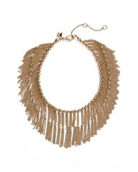 Rebecca Minkoff | Metallic Fringe Necklace | Lyst