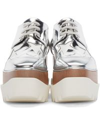 Stella McCartney - Gray 'elyse' Star Shoes - Lyst
