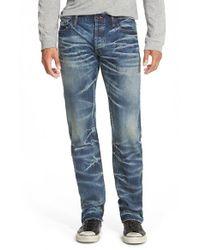 PRPS - Blue 'barracuda - Australe' Straight Leg Jeans for Men - Lyst