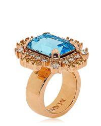 "Mawi | Metallic ""barbarella"" Collection Ring | Lyst"