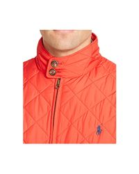 Polo Ralph Lauren - Red Quilted Barracuda Jacket for Men - Lyst