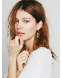 Free People - Metallic Celestial Drop Earring - Lyst