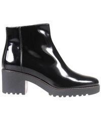 Hogan - Black Ankle Boots - Lyst