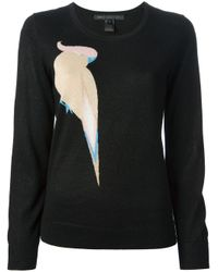 Marc By Marc Jacobs | Black Parrot Print Sweater | Lyst