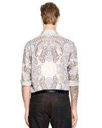 Etro - Multicolor Paisley Print Cotton Shirt for Men - Lyst
