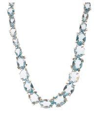 Alexis Bittar Fine - Metallic Silver Blue Quartz Set Necklace - Lyst