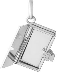 Links of London - Metallic Once Upon A Time Book Sterling Silver Locket Charm - Lyst