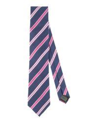 Pedro Del Hierro Madrid - Purple Tie for Men - Lyst