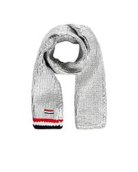 Moncler Gamme Bleu | Metallic Tipped Chunky Cashmere Scarf for Men | Lyst