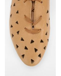 Urban Outfitters | Natural Cooperative Cutout Oxford | Lyst