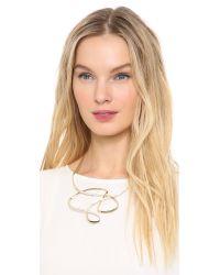 Jenny Packham - Metallic Scenic Necklace Ii - Lyst