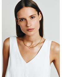 Free People | Metallic Five And Two Womens Greta Choker | Lyst