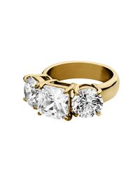 Dyrberg/Kern | Metallic Charis Ring | Lyst