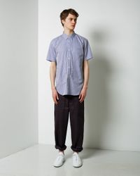 Comme des Garçons - Blue Short Sleeve Pocket Shirt for Men - Lyst