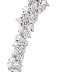 Ana Khouri | Metallic Mirian 18karat White Gold Diamond Ear Cuff | Lyst