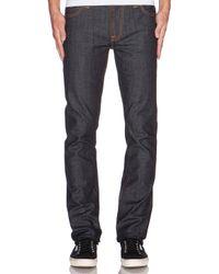 Nudie Jeans | Gray Thin Finn for Men | Lyst