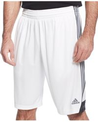 "Adidas Originals | White Men's 3g Speed 10"" Shorts for Men 