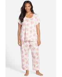 Carole Hochman - Pink Capri Pajamas - Lyst