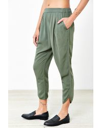 Silence + Noise - Green Blaire Jogger Pant - Lyst