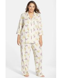 Lauren by Ralph Lauren | Natural Pajamas | Lyst