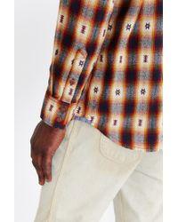 Vans - Red Huffman Flannel Button-down Shirt for Men - Lyst