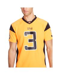 Ralph Lauren | Orange Short-sleeved Football Jersey for Men | Lyst