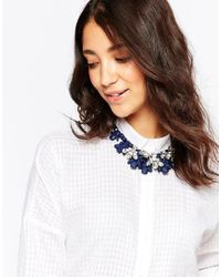 Oasis | Blue Statement Necklace | Lyst