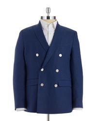 Lauren by Ralph Lauren | Blue Linen Blazer for Men | Lyst