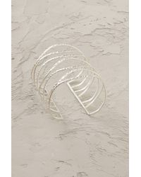 Anthropologie - Metallic Gilded Paths Cuff - Lyst
