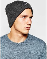ASOS - Thinsulate Beanie In Gray for Men - Lyst