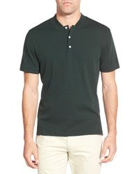 AG Jeans | Green Label 'forged' Pima Cotton Polo for Men | Lyst