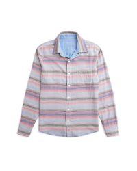 Faherty Brand | Blue Reversible Belmar Workshirt for Men | Lyst