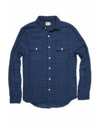 Faherty Brand | Gray Belmar Workshirt for Men | Lyst