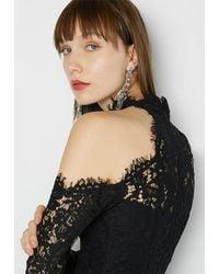 Fame & Partners - Black Irvine Dress - Lyst