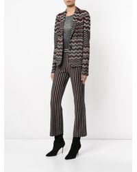 Missoni - Black Zig Zag Knitted Jacket - Lyst