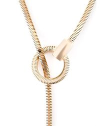 Lara Bohinc | Metallic 'schumacher' Loop Necklace | Lyst